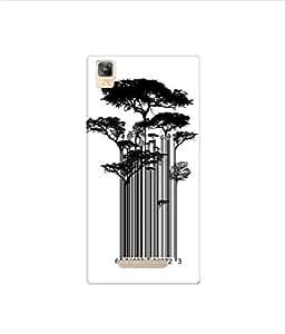 Kaira High Quality Printed Designer Soft Silicon Back Case Cover For Panasonic Eluga A2(429)