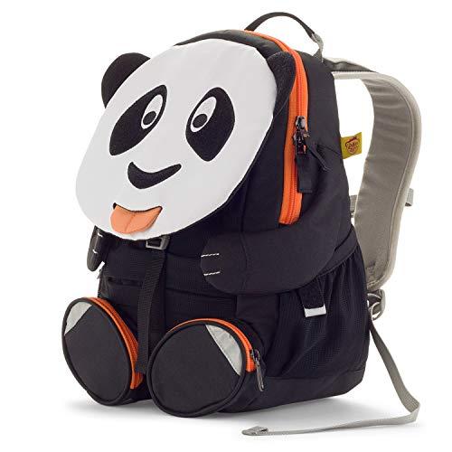 Affenzahn Kinderrucksack für 3-5 Jährige im Kindergarten - Paul Panda - Weiß