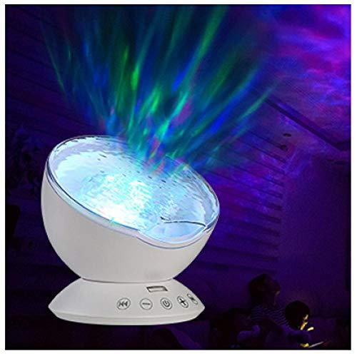 Lámpara cambiante de color y proyector Aurora