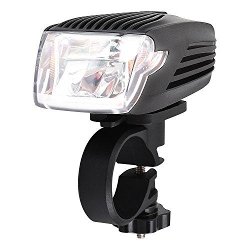 ONEU Fahrrad Licht, Cree LED Smart Fahrradbeleuchtung USB Wiederaufladbare Frontlicht Starke Wasserdicht Kontrollleuchte Deutschland Stvzo Standard (Beleuchtung, Kontrollleuchten)