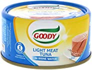 Goody Light Meat Tuna In Brine Water, 160 gm