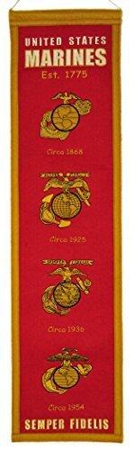Winning Streak Sports Marine Corps Heritage Banner, 81,3 x 20,3 cm von Winning Streak LLC -