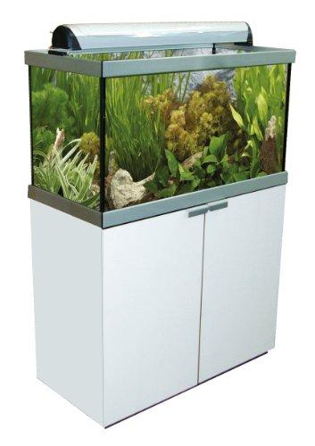 Fluval 15826 Studio 900, Aquarium-Schrank-Kombination, 180 l, weiß