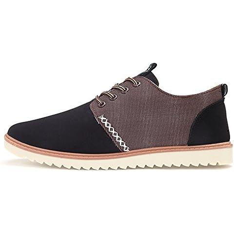 La versión coreana de los hombres zapatos ocasionales de la manera/ zapatos vestido/Zapatos del estudiante/Inglés bajo