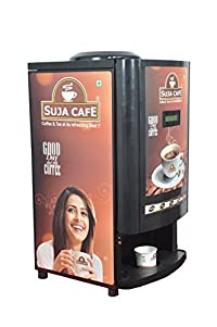 Sujacafe Coffee Vending Machine, 25 KG, Black