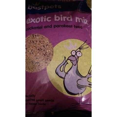 Bestpets Aves exóticas Mix Cockatiel & periquito 20kg