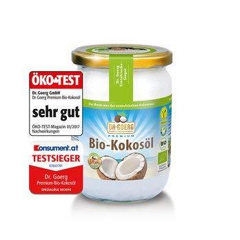 Dr. Goerg Premium Bio-Kokosöl, 2er Pack (2 x 500 ml)