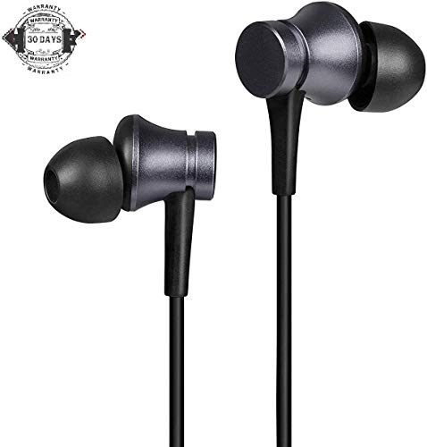 FASHIONISTA Wired Type C Earphone with mic and High Bass Stereo Sound Compatible for Type C MI and Other Type C Smartphones (One Plus 7pro/7/6T) - Black Image 2