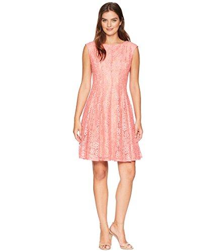 GABBY SKYE Damen Sleeveless Coral Lace Dress Kleid, Nude, 40 -