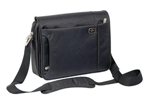 Wedo 595001 GoFashion Crossover Tasche Querformat (mit Spezialfach für Tablet PCs) schwarz