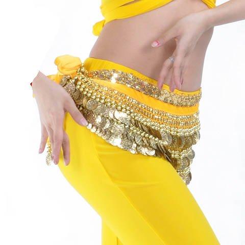 Belly Dance Hip Écharpe de jupe avec paillettes Idée de Cadeau de Noël Style 8