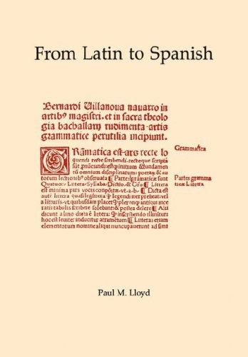 From Latin to Spanish: 1 (Memoirs of the American Philosophical Society)