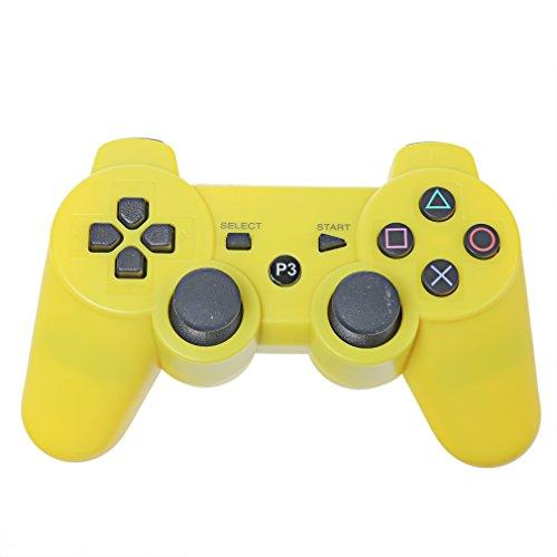 3 Playstation Fernbedienung-ladegerät (ttsam Doppel Vibration LowClick Game Wireless aufladbare Bluetooth Controller Gamepad Fernbedienung Joystick Gamepad für PlayStation 3PS3¡)