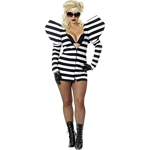 Charades Lady Gaga Prisoner of Love Costume Dress (Womens L)