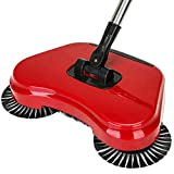 #9: Glowing Buzz New Design Magic Broom Sweeping Machine 360 Degree Rotating Hand Push Sweeper Dustpan Vacuum Artifact Floor Home Cleaner Easy Use Auto Spin Hand Push Broom (Color May Vary)