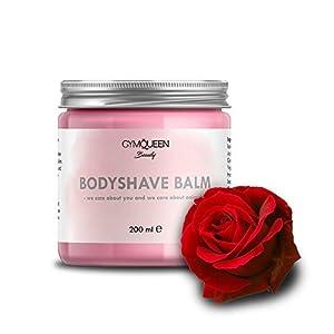 After Shave Balsam   Feuchtigkeitscreme gegen Pickel und Rötungen für alle Hauttypen   Bodyshave Balm Bodylotion nach dem Rasieren/IPL/waxing/sugaring oder epilieren   Naturkosmetik von GymQueen