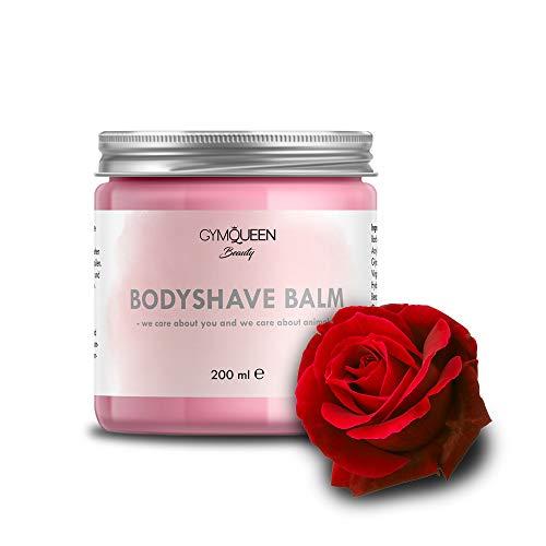 After Shave Balsam | Feuchtigkeitscreme gegen Pickel und Rötungen für alle Hauttypen | Bodyshave Balm Bodylotion nach dem Rasieren/IPL/waxing/sugaring oder epilieren | Naturkosmetik von GymQueen
