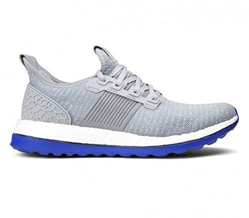 adidas Herren Pureboost ZG Prime M Laufschuhe, Gris / Azul (Grimed / Grpuch / Eqtazu)