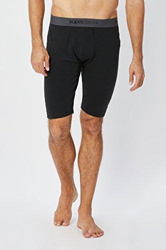 super.natural Kurze Herren Funktions-Unterhose, Mit Merinowolle, M BASE SHORT TIGHT 175, G Preisvergleich