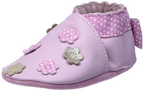 RobeezFORGET ME NOT - Scarpine e pantofole primi passi  Unisex - Bimbi 0-24 , Rosa (Pink (133)), 21/22