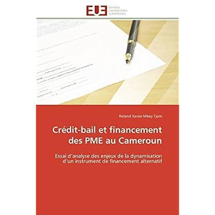 Crédit-bail et financement des pme au cameroun