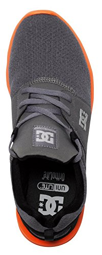DC Shoes  Heathrow Se, Sneakers basses homme Gris & Orange