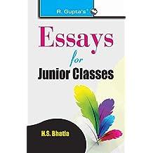 Essays For Junior Classes