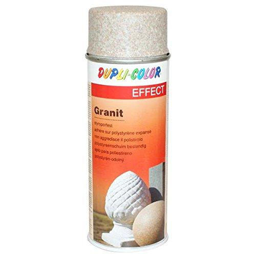 DUPLI-COLOR, Vernice spray effetto granito, 400 ml, Marrone (braun) - (Granito Vernice)