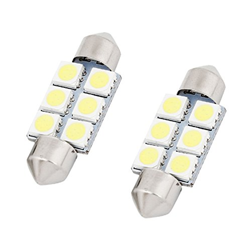 Zantec 2/pcs 18smd erreur gratuit Nombre de LED Feux de plaque dimmatriculation pour BMW E36/318i 328i M3