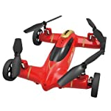 Yacool® De Syma X9 Rail espacio del vuelo del coche de RC Quadcopter Drone--rojo