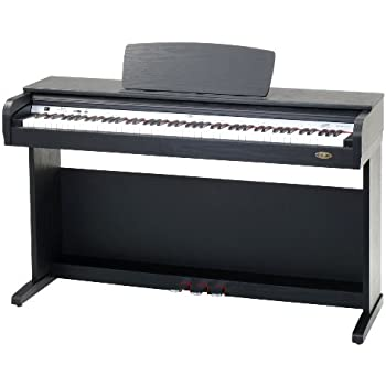 Classic Cantabile DP-40 SM Digitalpiano mit 88 Tasten, schwarz matt