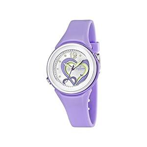 Calypso–Reloj de Cuarzo para Mujer con Correa de plástico, Color