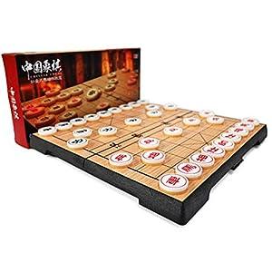 KE Huitong Set di Scacchi Cinesi, Grande, Magnetica, Scacchiera Pieghevole, Pezzo degli Scacchi in Acrilico, Giocattoli educativi degli Scacchi degli Studenti ( Size : Small )