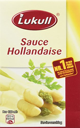 Lukull Servierfertige Sauce Hollandaise, 12er Pack (12 x 250 ml)