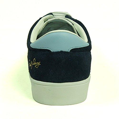 B6273266UMPIRESUEDE Fred Perry Sneakers Uomo Camoscio Blu Blu
