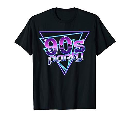 Retro 90er Jahre Kostüm - Retro 90er Jahre Kostüm 90's Outfit Männer Frauen 90er Party T-Shirt