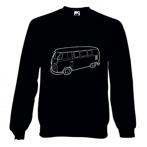 "Sweatshirt ""VAN- TRANSPORTER- AUTO- ALTE- JAHRGANG- OLDTIMER- TRANSPORT- FAHRZEUG- ALTE AUTOS- VERKEHR- RETRO- KLASSIKER- AUTOMOBIL"" für Herren- Damen- Kinder"