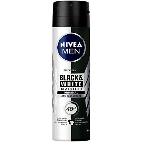 Preisvergleich Produktbild Nivea Men Anti-Transpirant Black & White invisibe original