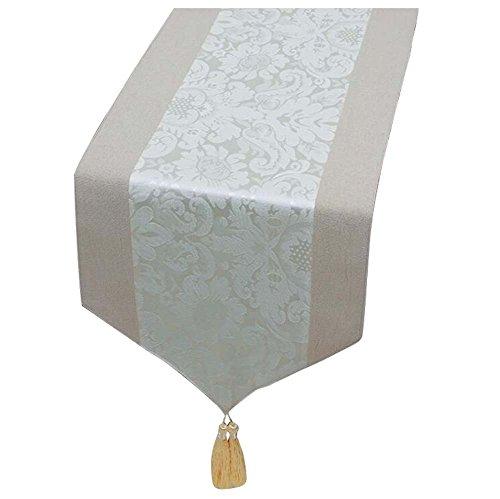 Tableau de table chinois moderne de luxe Tableau Tapis de ménage de mariage blanc