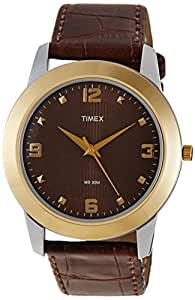 Timex Classics Analog Brown Dial Men's Watch - TW000W803