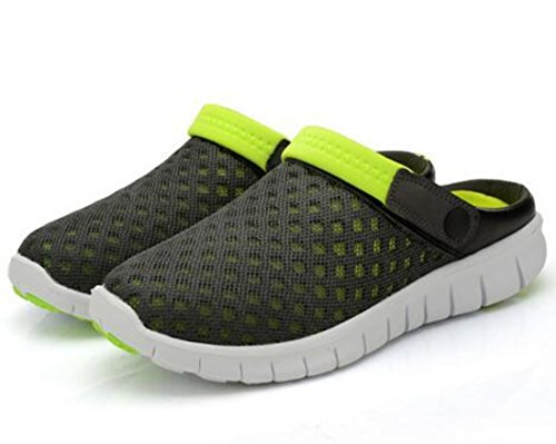 Men's Fashion Beach Hollow Out Mesh Breathable Sandals C