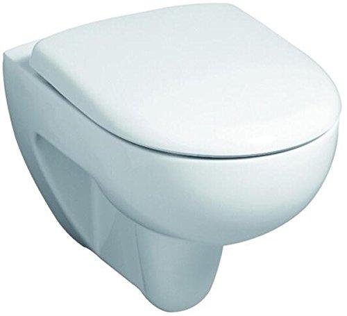 Keramag Renova Nr.1 Tiefspül-WC spülrandlos 4,5/6l wandhängend weiß KeraTect