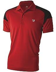 Wilson Wilson Staff Performance Men's Polo Shirt Red Size L