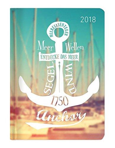 Preisvergleich Produktbild Minitimer Style Ruf des Meeres 2018 - Taschenplaner / Taschenkalender A6 - Weekly - 192 Seiten