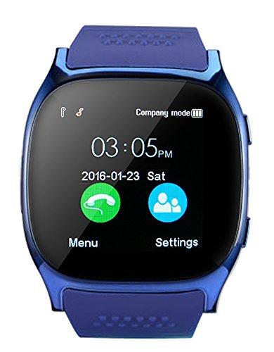 CanMixs Smartwatch CF02 es compatible con la tarjeta SIM Reloj de pulsera TF con cámara Podómetro Sleep Monitor Message Sync notifica el reproductor de música sedentaria para el teléfono Android IOS 2