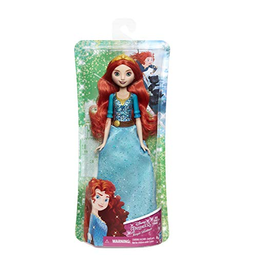 Hasbro E4164ES2 - Disney Prinzessin, Schimmerglanz Merida, Puppe