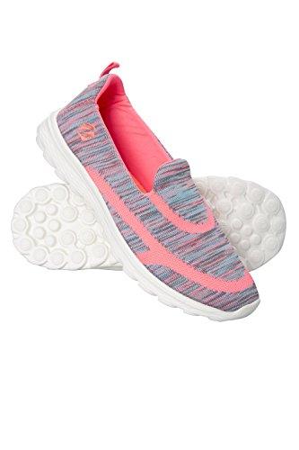 Zakti Kids Hermosa Space Dye Slip-Ons Spacey Coral 34 EU (Mädchen Active Outfits)