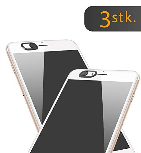 innoGadgets Webcam Abdeckung [3X] | Laptop Webcam Cover | Anti-Spionage Schutz, Kamera Sticker | Ultra dünnes Design | Starker Halt mit 3M-Tape | Schwarz - Iphone 3g Slide
