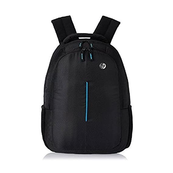 HP Polyester Blue Backpack