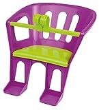 Lena 61160 - Sitz für Puppen bis 46 cm, Puppensitz zum Anhängen an Lenker von Dreirad, Roller und Kinderfahrrad, Sortiert